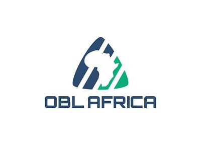 OBL Africa Logo corporateidentity logodesign branding and identity branding design brand logo design logo brand identity branding vector design