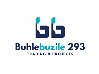 Buhlebuzile 293 Trading & Projects Logo blue branding design logodesign illustration brand logo design logo brand identity branding vector design