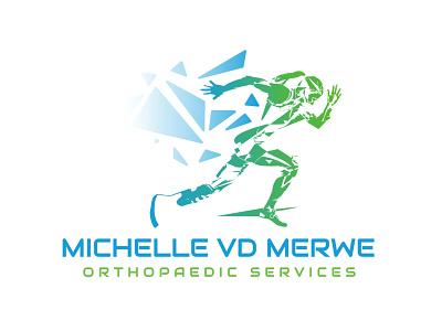 Michelle van der Merwe Orthopaedic Services Logo Redesign 2 orthopaedics branding design logodesign color illustration brand logo design logo brand identity branding vector design