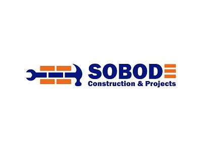 Sobode Construction & Projects Logo logo designs logo designer logotype logos illustration branding design logodesign brand logo design logo brand identity branding vector design