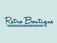 Retro Boutique Logo Mockup
