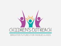 Children's Outreach Logo Mockup