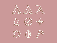 Great Outdoors Icon Set