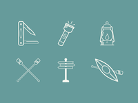 Great Outdoors Icon Set, Part 2