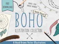 Boho Illustration Collection