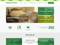 Duncraig Cottage Website