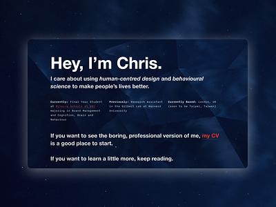 Portfolio Website personal website portfolio web design