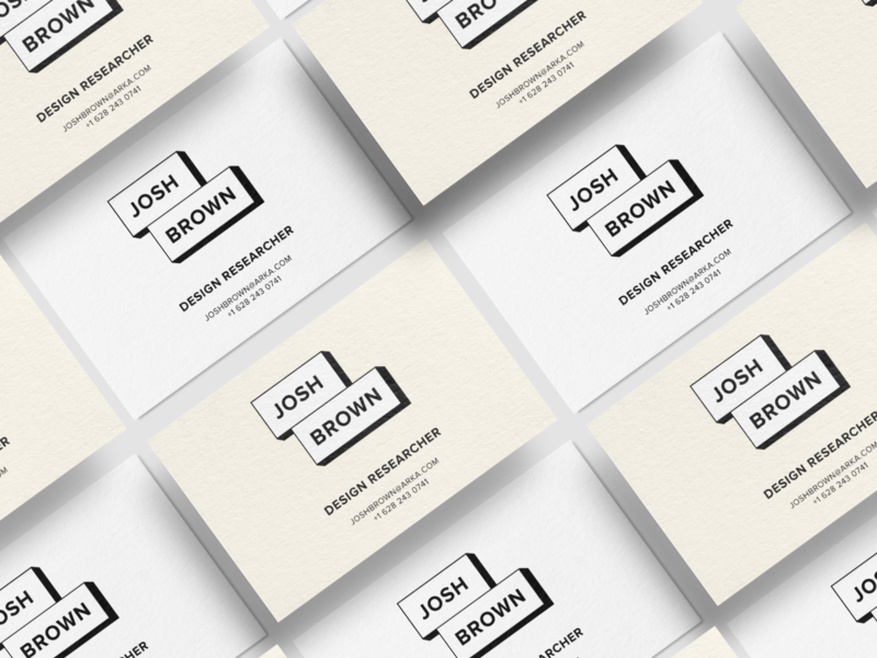 Business Card Mockup typography branding logo business card design
