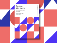 Design Workshop Poster branding design