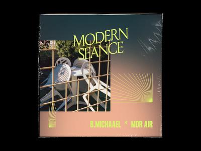 Modern Seance cd cover cd gradient type artwork album music modern