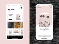 Pet Care Mobile App UI