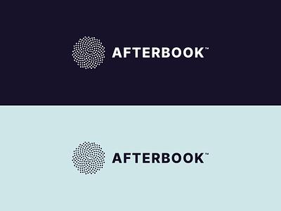 Afterbook Branding saas logo saas brand clean brand logo design afterbook branding afterbook orange green dark colour palette logo branding