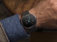 Moto 360 Simple Clock Face / UI