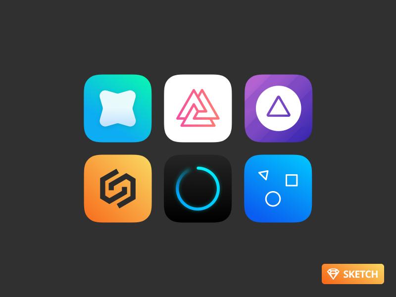Free iOS App Icons icons sketch free resource sketch download free ios icons app icons free app icon