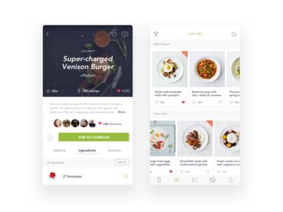 Voila Recipe App