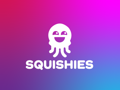 Squishies illustration logo