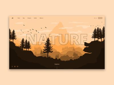 Nature - Landing Page