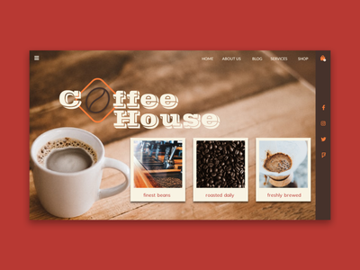 Coffee House - Landing Page
