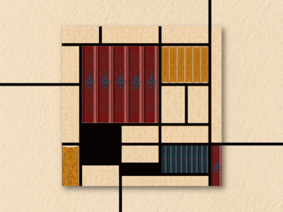 Book Ideation - #15 Mondrian