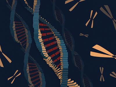 Book Ideation - #29 DNA xy chromosome adn dna soledas thanh hamsa navy ideation idea red ai book illustration