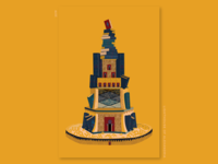 Book Ideation - #34 Lighthouse of Alexandria by Book