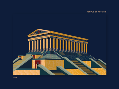 Book Ideation - #35 Temple Of Artemis by Book