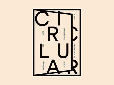 Circular Typeface Book - White