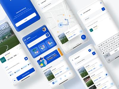 Futto App Mobile Exploration uiux sport app design vector app ux ui mobile app