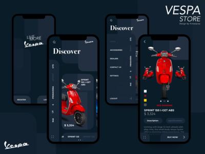 Vespa Store Mobile Apps