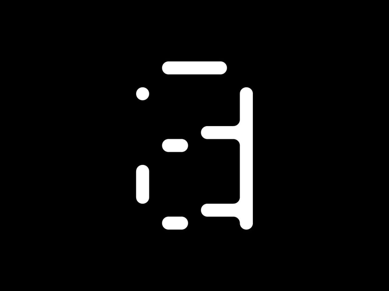 Type Detail geometric parametric modular pixel grid displaytypography displaytype display typedesign fontface typeface font type typography detail anatomy character alphabet letter glyph