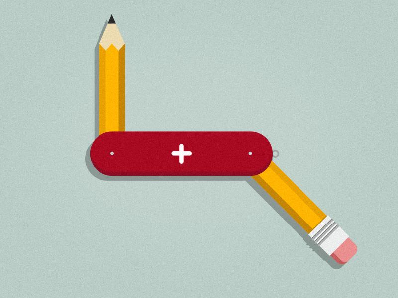 Creative Tool 2d illustrator icon motion graphics