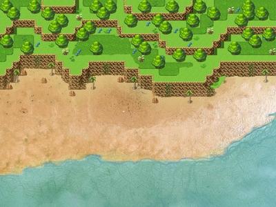 The Beach from Familia, an RPG