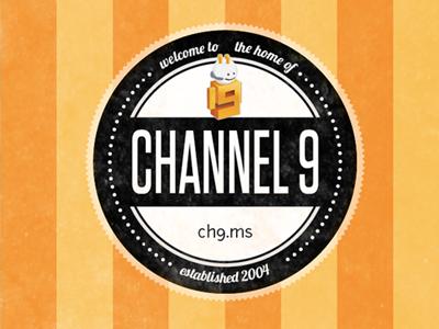 Channel 9 badge tungsten illustrator lobster junction 9guy seal stripes