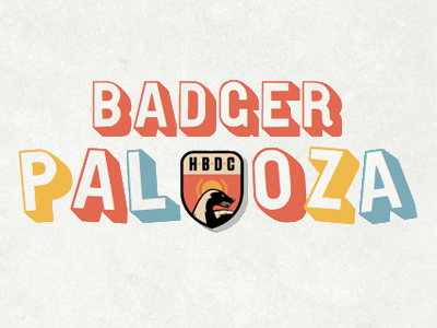 Badger Palooza @ SxSW sxsw lettering fittext typekit css3 patch honey badger gothic open shaded