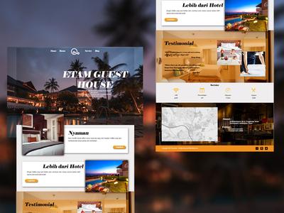 Guest House company profile Web Ui