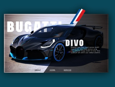 web design Buggati Divo
