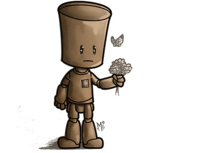 Alone Robot