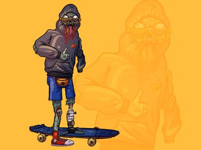 Zombie skater
