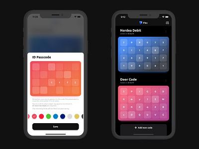 Pinc - Short Codes Manager ios13 apple apps appdesign appstore ios app app ios