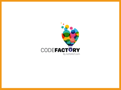 "Start up Logo ""Code Factory"" Logo idea startup logo logoideas startup software type logodesign logo mark"