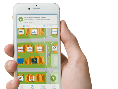 Mobile UI - Custom Map creativethinking designthinking design navigation androidapp iosapp appdesign creative wayfinding map uiux mobile ui ux mobile design digital map maps custommaps