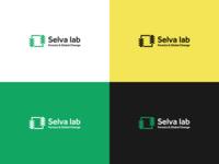 Selva lab logo colour variation
