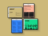 Hyphae website design
