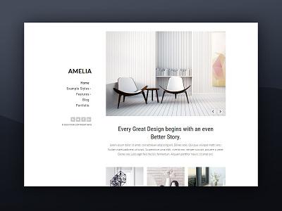 J51 Amelia - A Joomla Template template design templates web design theme theme design webdesign joomla templates joomla template joomla designs joomla