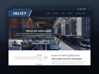 J51 Juliet - A Joomla Template restaurant interior design template templates web design theme template design webdesign joomla templates joomla template joomla designs joomla