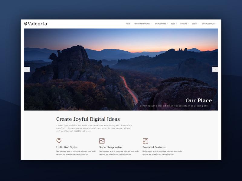 J51 Valencia - A Joomla Template template adventure travel joomla designs web design webdesign joomla templates joomla template joomla