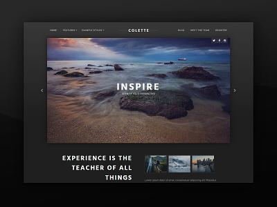 J51 Colette - A Joomla Template template theme adventure css webdesign web design joomla templates joomla template joomla