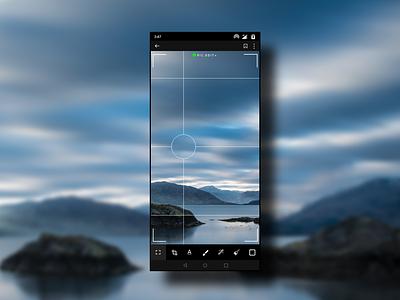 Grid Image Editor design minimal app ux ui ui  ux design
