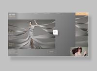 FENDI  website User Interface design
