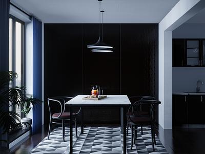 Dining room design modeling rendering digital3d blender3d 3dmodeling interiordesign furniture 3dart 3d blender